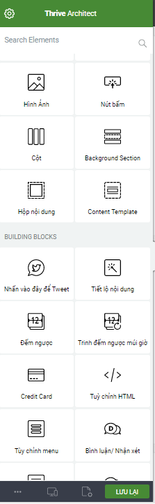 Thrive architect Thiet ke Landing Page hiệu quả