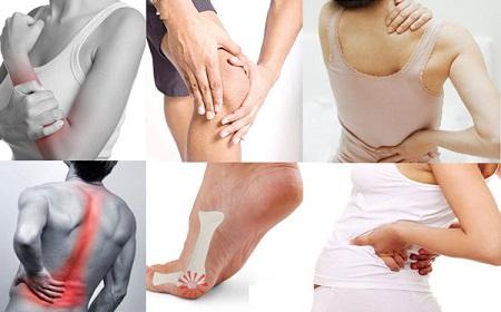 Đau nhức còn là biểu hiện của một số bệnh nghiêm trọng về xương khớp