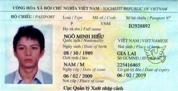 Hộ chiếu của Hacker rất giỏi về CNTT